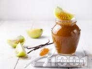 Рецепта Конфитюр от зелени домати и портокал